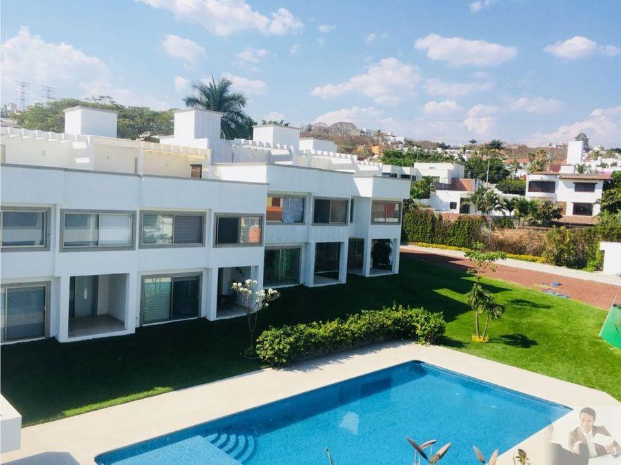 estrena moderna casa con vigilancia y roof garden