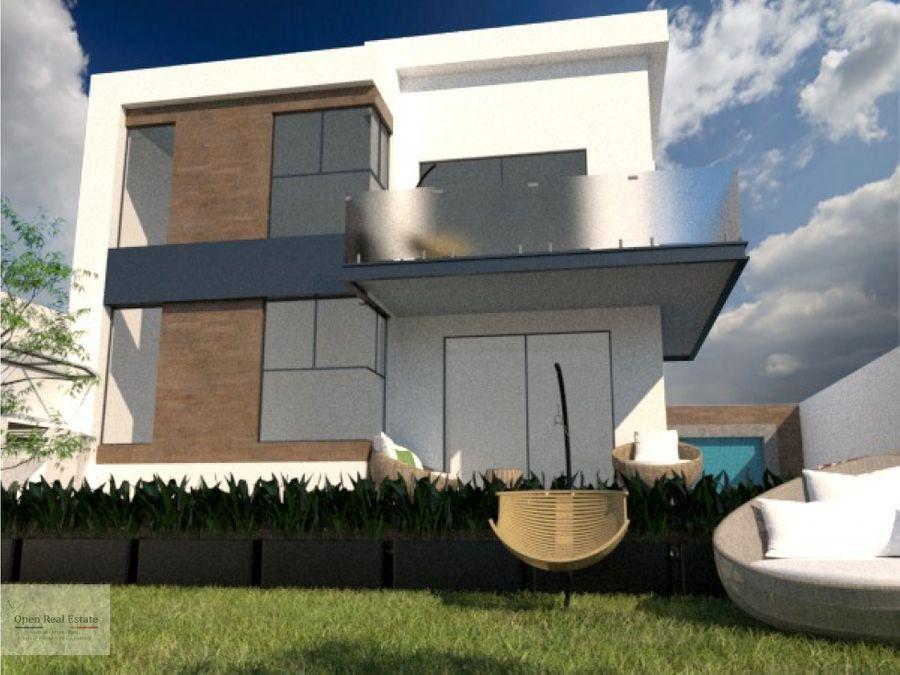 espectacular residencia minimalista al sur de cuernavaca