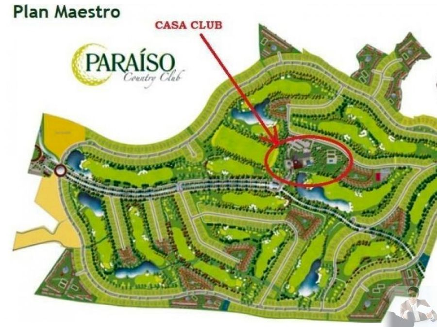 terreno en fraccionamiento paraiso country club