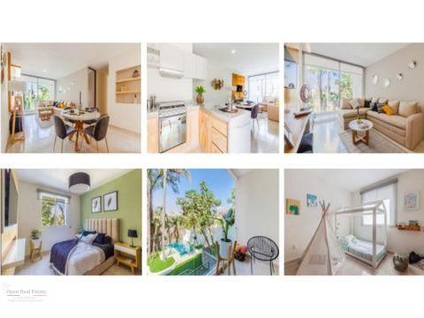 departamento en exclusivo condominio residencial 3 recamaras