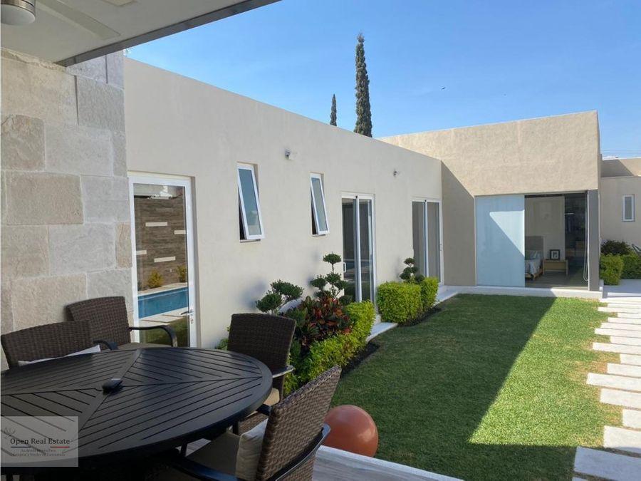 hermosa casa minimalista en burgos