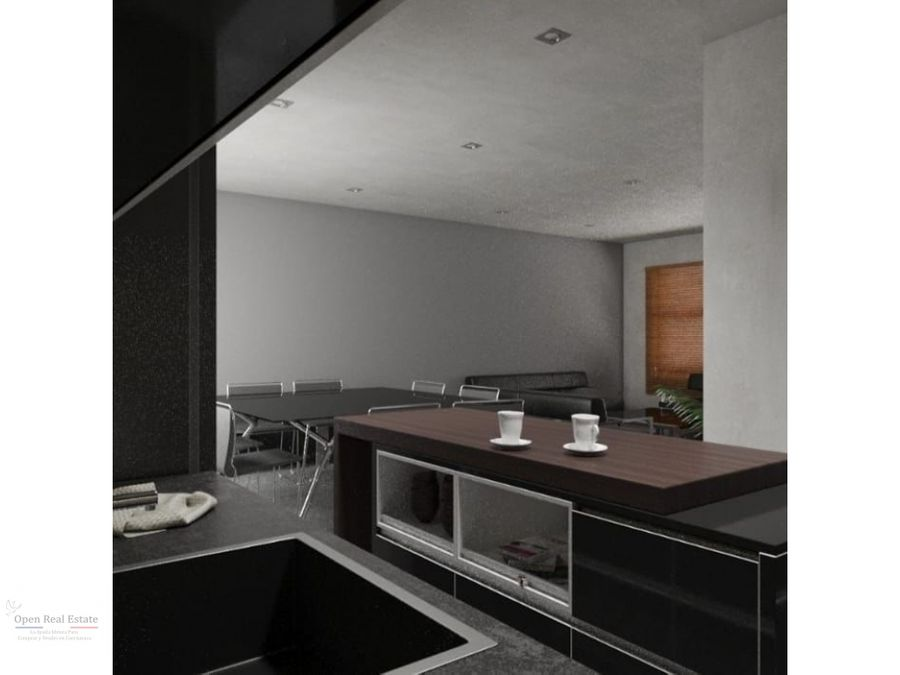 moderna casa en privada alberca y roof garden al srud e cuernavaca