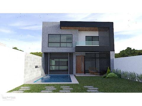 casa moderna minimalista al sur de cuernavaca