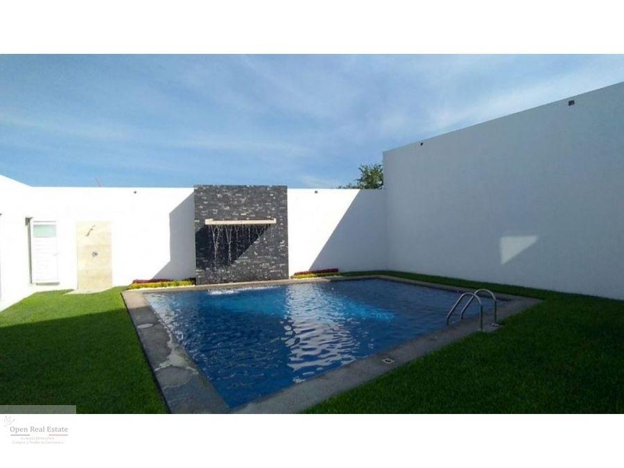 estrena propiedad con roof garden al sur de cuernavaca