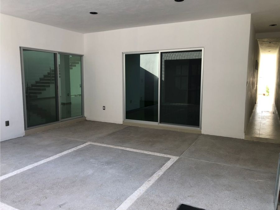 estrena casa equipada minimalista al sur de cuernavaca