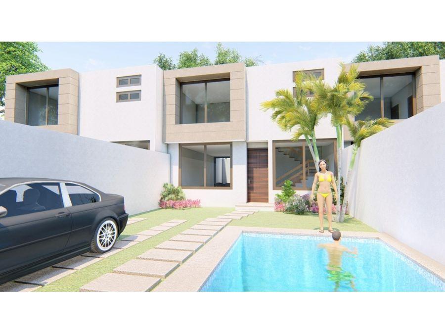 espectacular casa con alberca privada