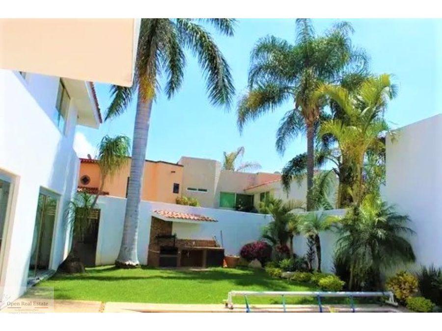 magnifica residencia en zona exclusiva del norte de cuernavaca