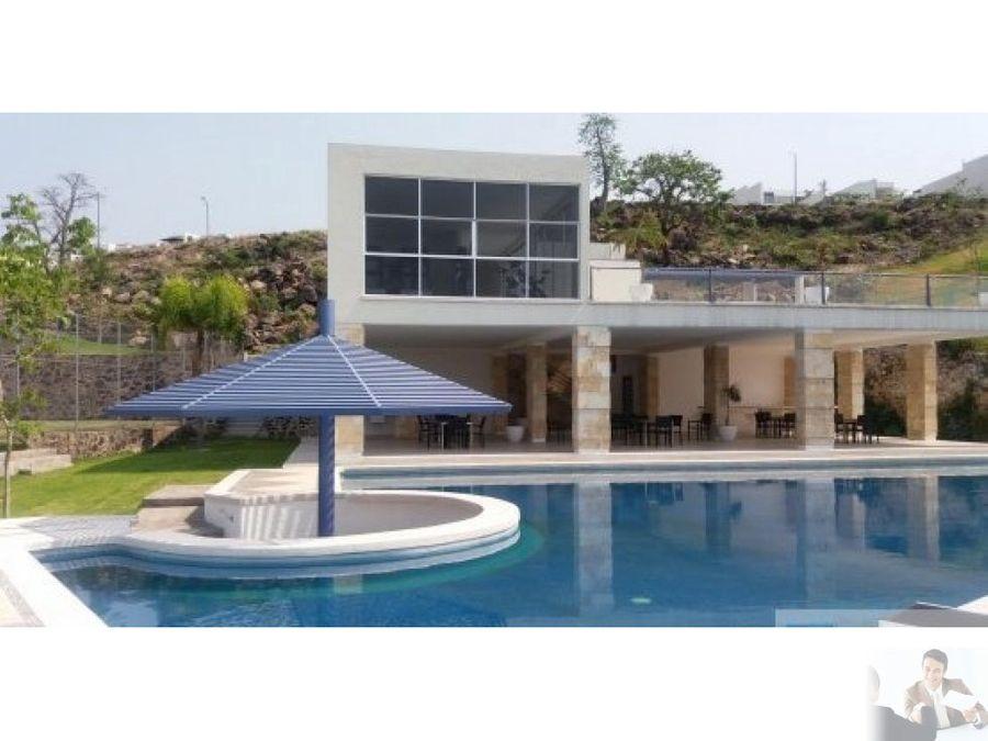 moderna residencia un nivel