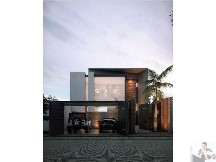 en pre venta casa moderna minimalista cuernavaca
