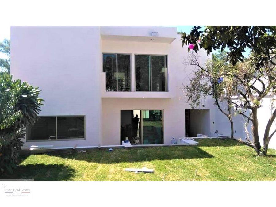 casa moderna y minimalista en cuernavaca