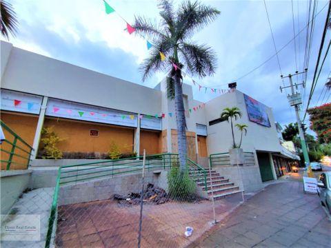 prop comercial en el centro de cuernavaca ideal para restaurante