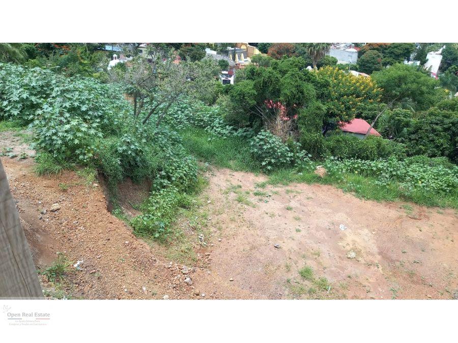 excelente terreno en lomas de cuernavaca