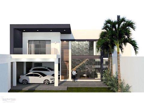 imponente casa moderna minimalista en fracc nuevo