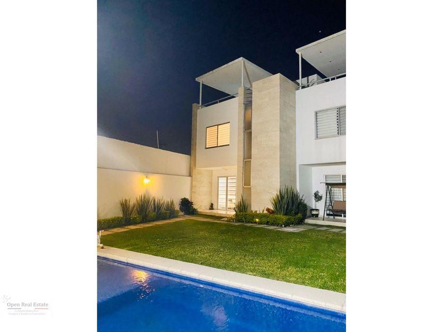casa moderna en privada zona burgos