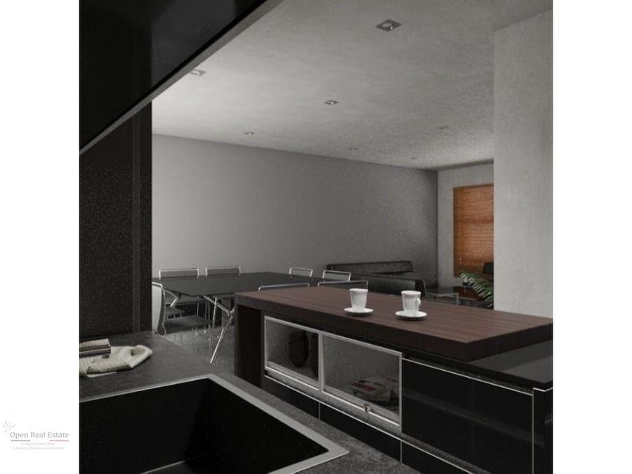 moderna casa en privada alberca y roof garden