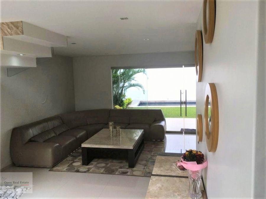 excelente casa residencial en cuernavaca zona dorada