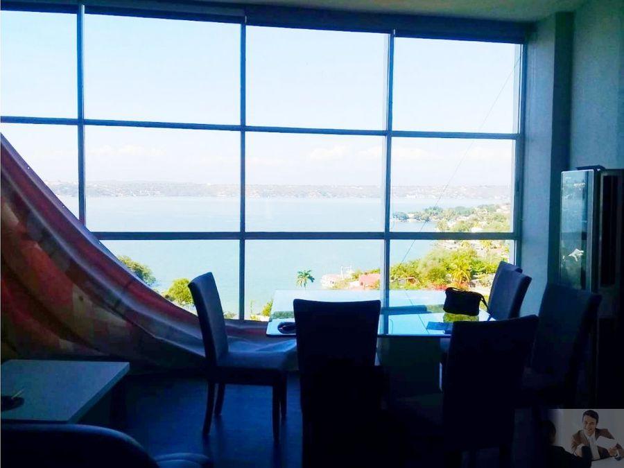 penthouse espectacular vista al mar de morelos