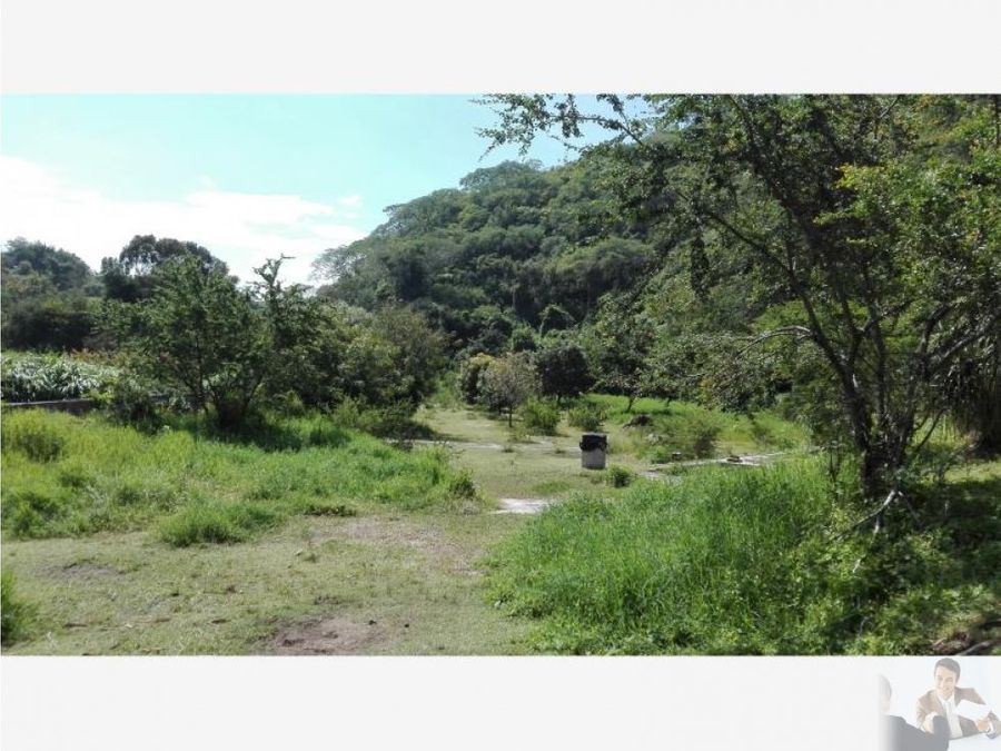 terreno de 35000m2 vista panoramica hacia rio
