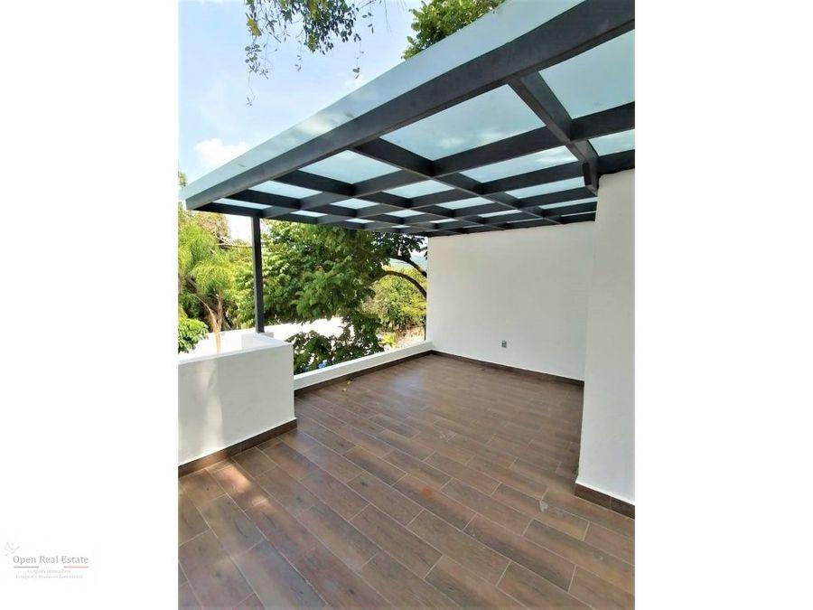 exclusiva privada casa con roof garden y jardin pv