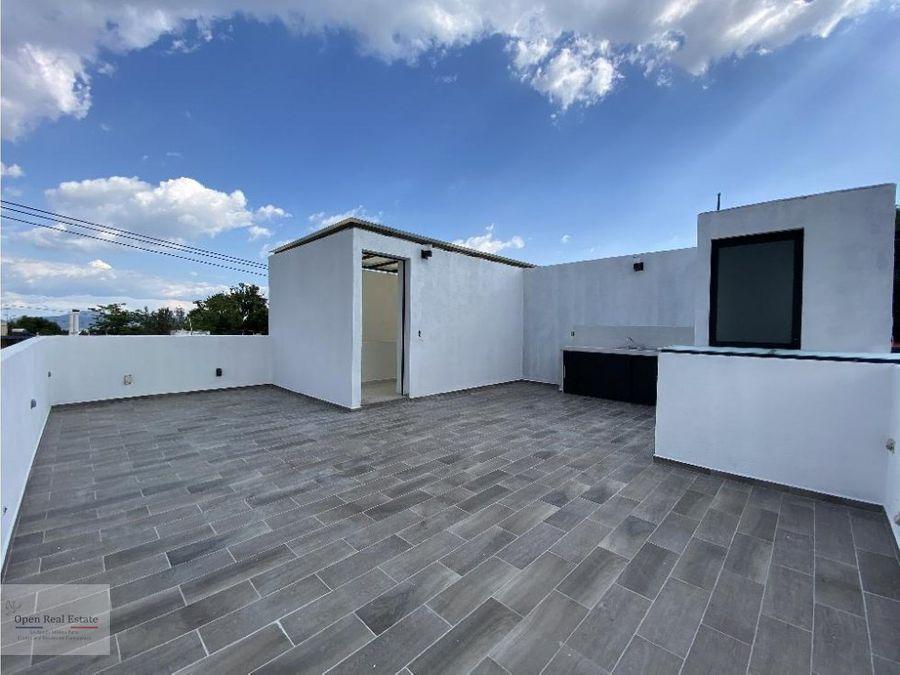 estrena casa moderna en zona dorada jardines de cuernavaca