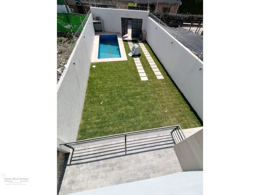 casa nueva moderna con alberca