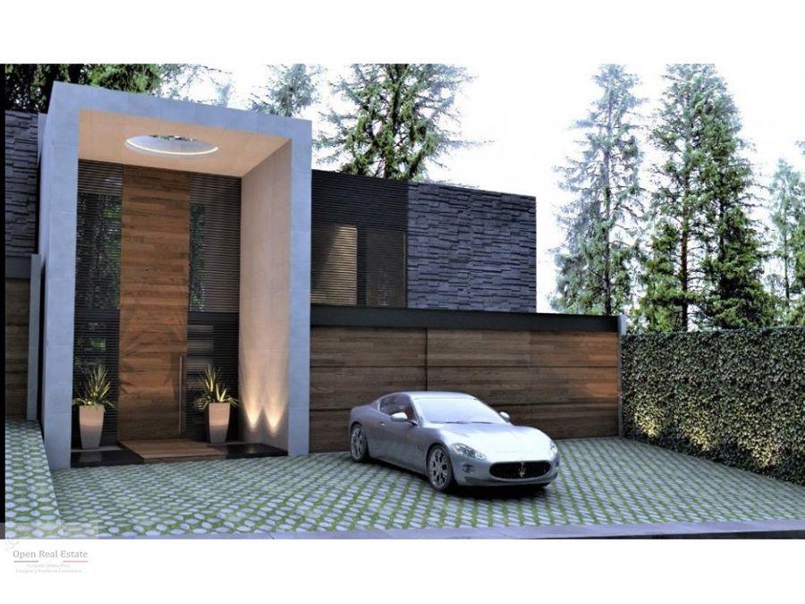 moderna casa al norte de cuernavaca lomas de tetela