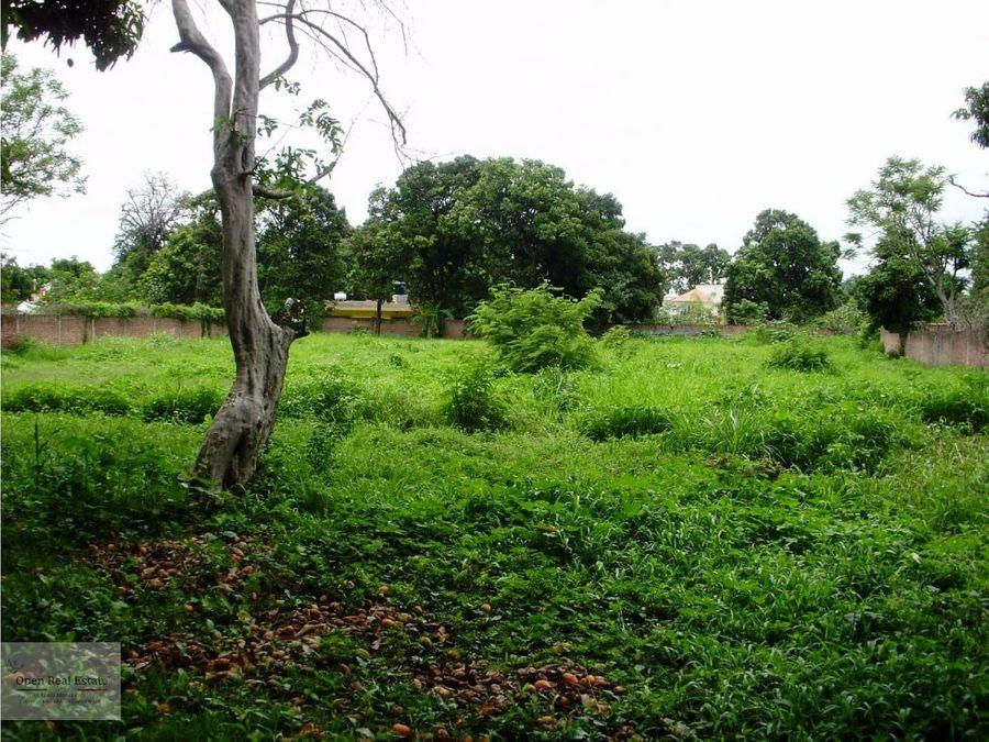 amplio terreno a unas cuadras del zocalo yautepec