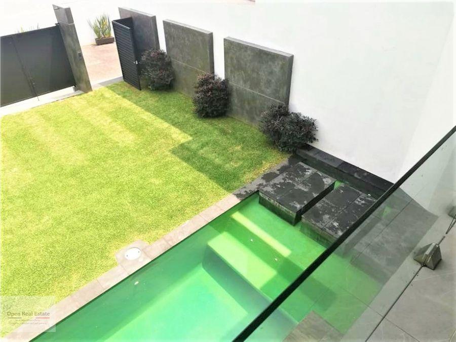 estrena moderna casa en cuernavaca vista hermosa