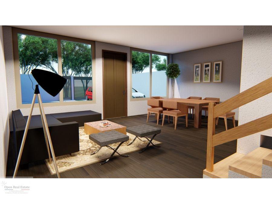 estrena exclusiva casa sola con alberca y roof garden