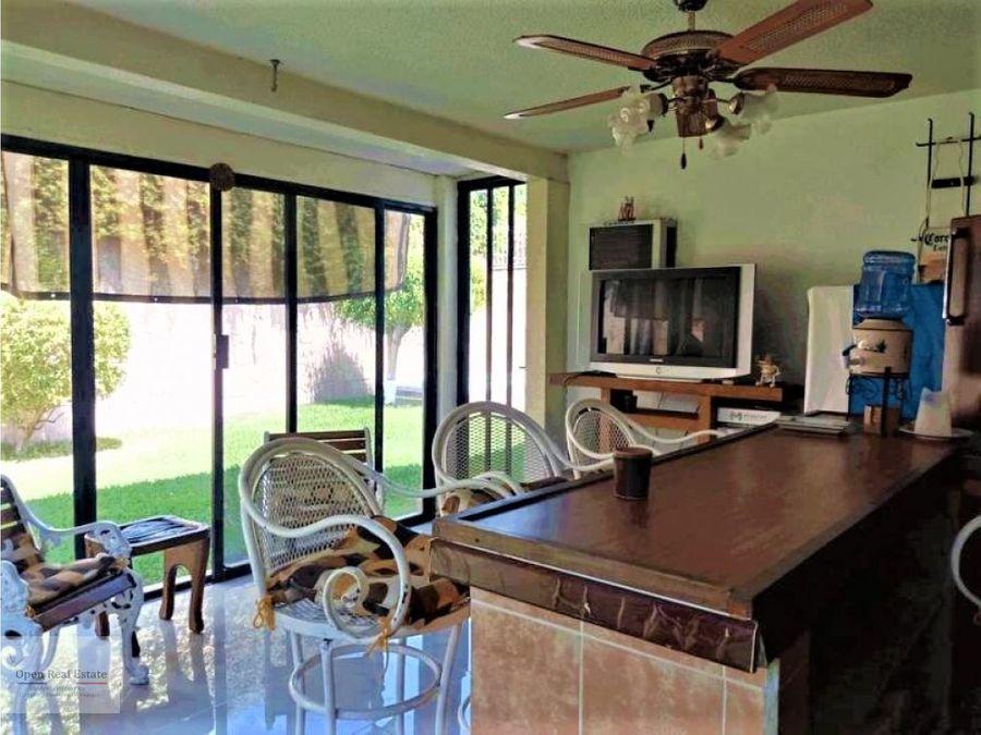 excelente casa totalmente amueblada en privada al sur de cuernavaca