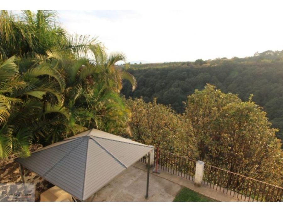 casa con hermosa vista en zona norte de cuernavaca