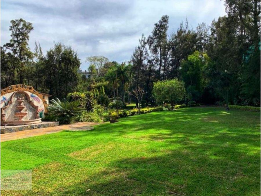 esplendida y amplia quinta en hermosa zona tepoztlan