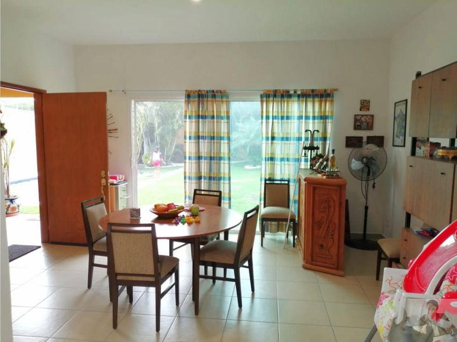casa ideal en un solo nivel en burgos cuernavaca