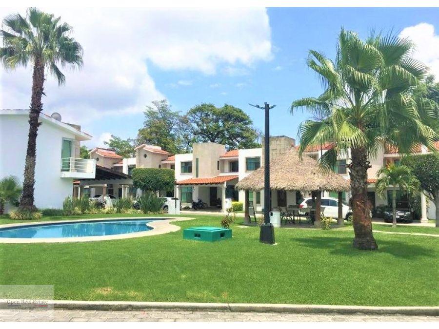 exclusivo residencial con alberca y tenis