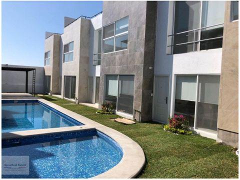 espectacular condominio de solo 9 casas