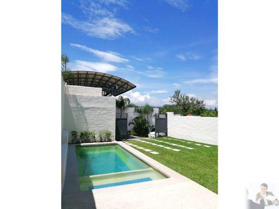 espectacular casa estilo mediterraneo en privada