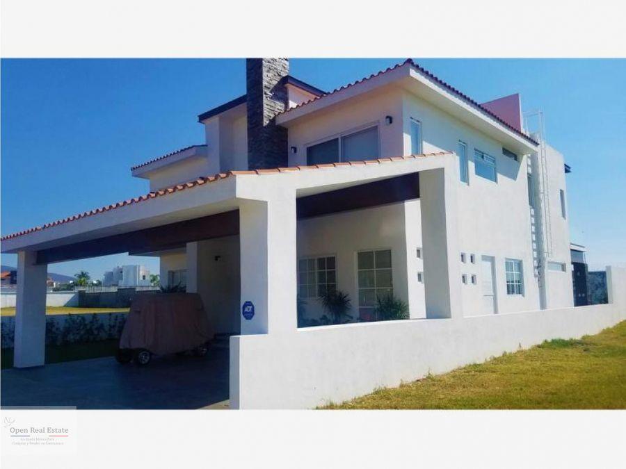 residencia con vista panoramicafracc paraiso country club