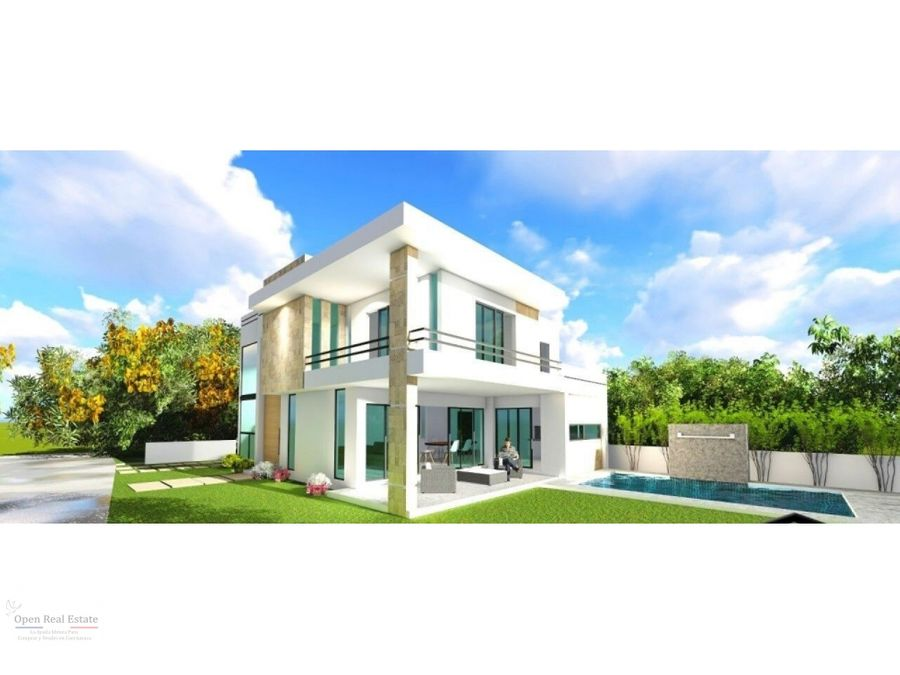 moderna casa en preventa con acabados de lujo