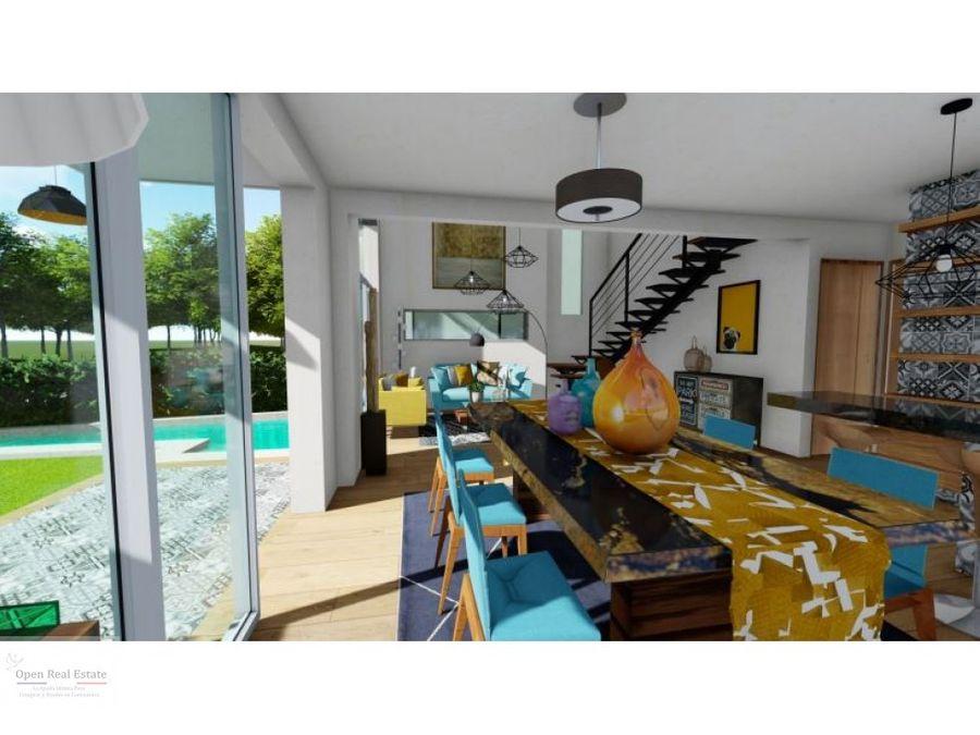 magnifica casa moderna en preventa