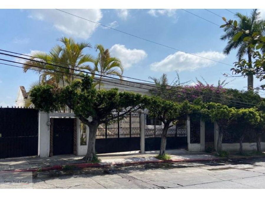 venta de casa para uso comercial en la pradera cuernavaca