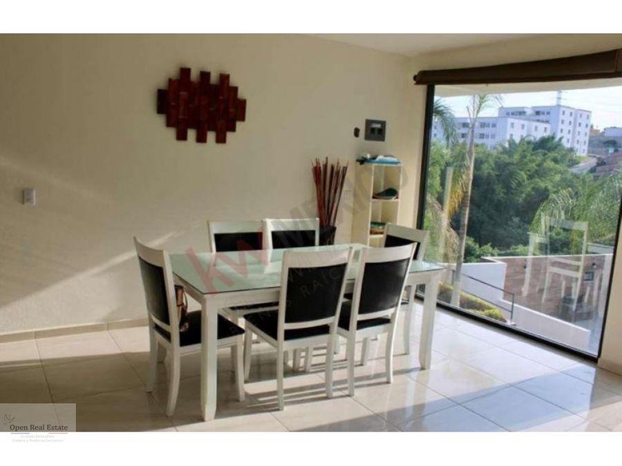 casa moderna en priv con alberca privada en cuernavaca