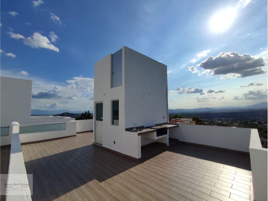 casa nueva con vista panoramica roof entrega inmediata
