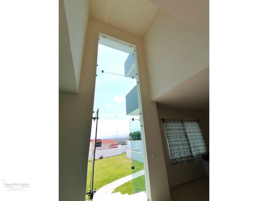 casa moderna a doble altura vista 1800