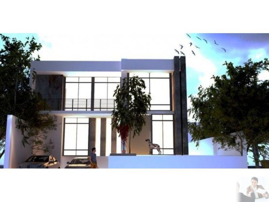 moderna casa un nivel en pre venta