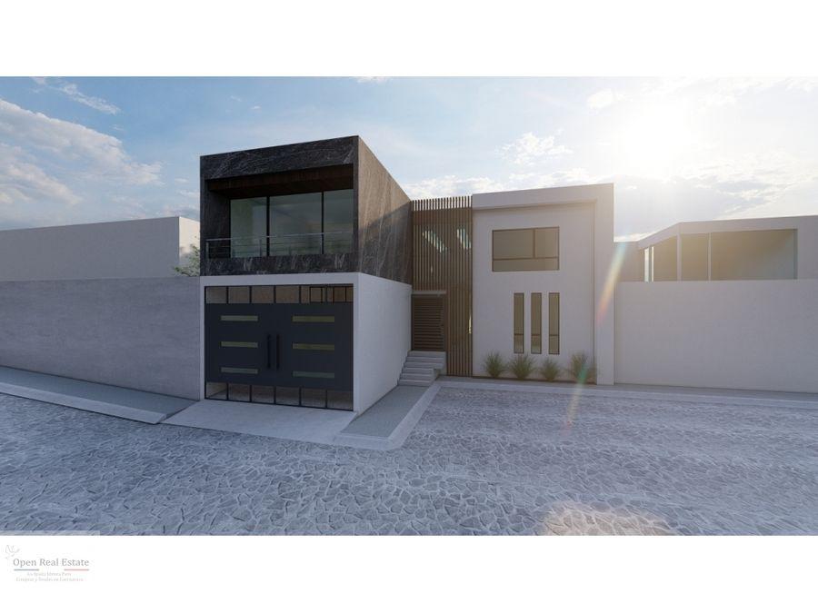 casa en preventa en exclusiva residencia al sur de cuernavaca