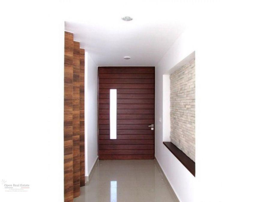 estrena casa con precioso diseno arquitectonico y acabados de lujo