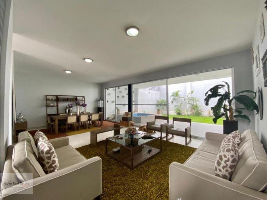 estrena moderna casa en cuernavaca