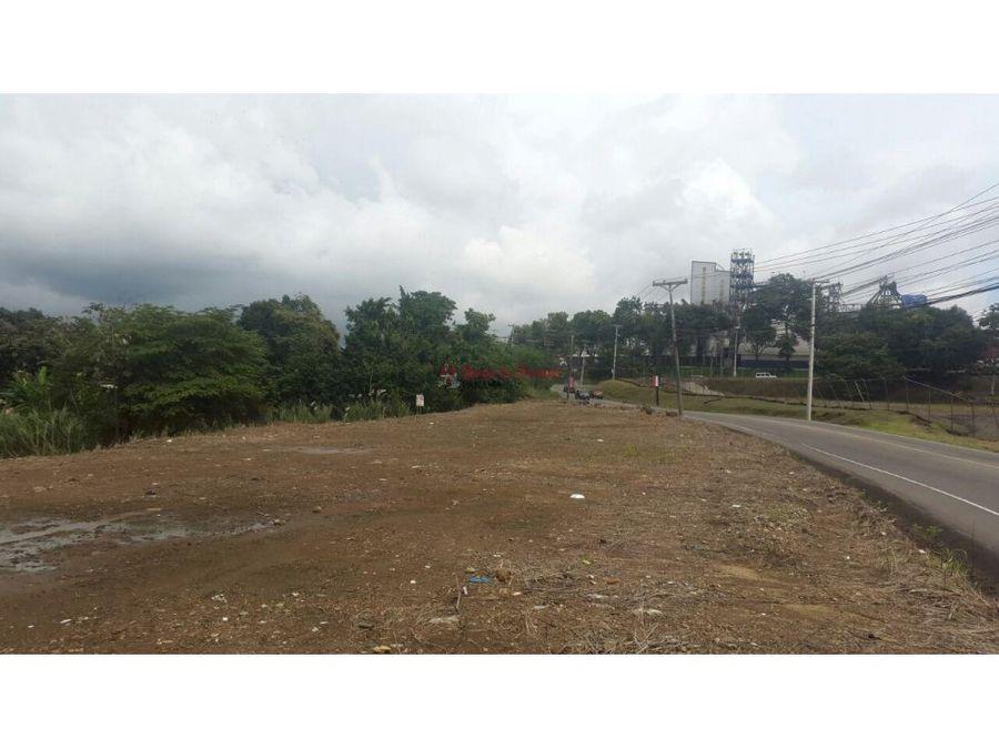 alquiler de terreno en mananitas panama