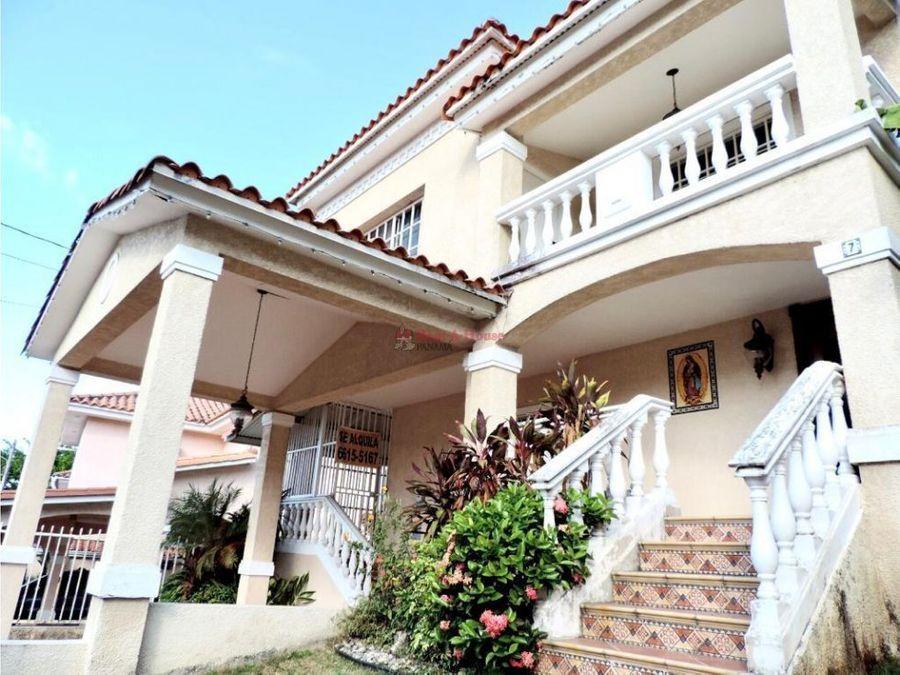 venta de hermosa casa en altos de panama