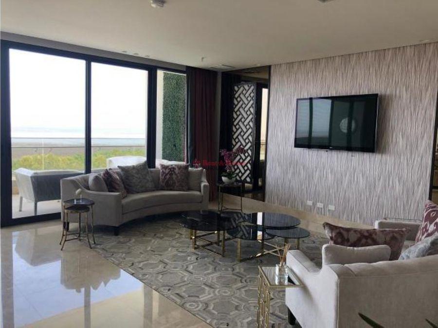 exclusivo apartamento en venta en costa del este
